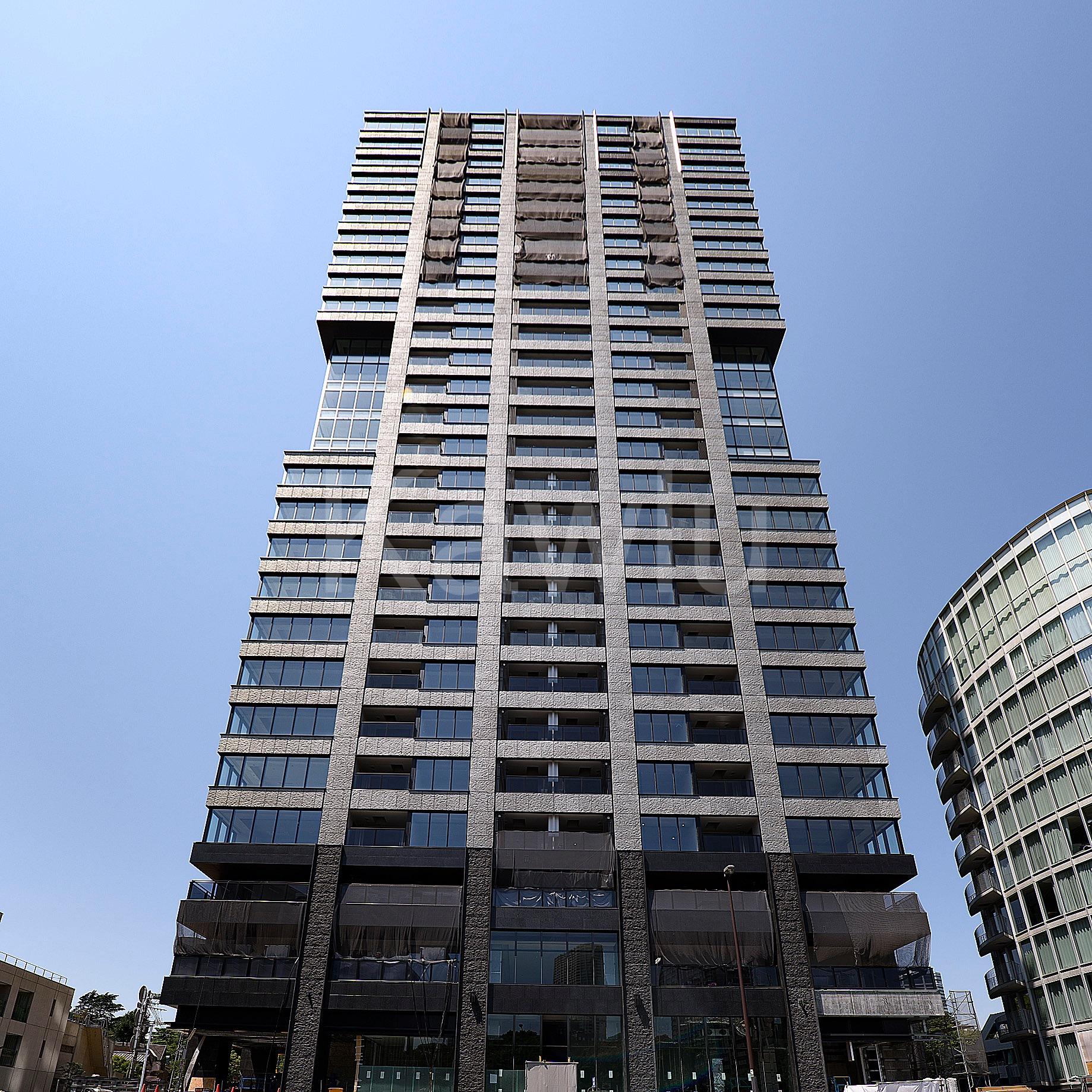 ザ・パークハウス白金二丁目タワーは、洗練されたデザインのタワーマンション!