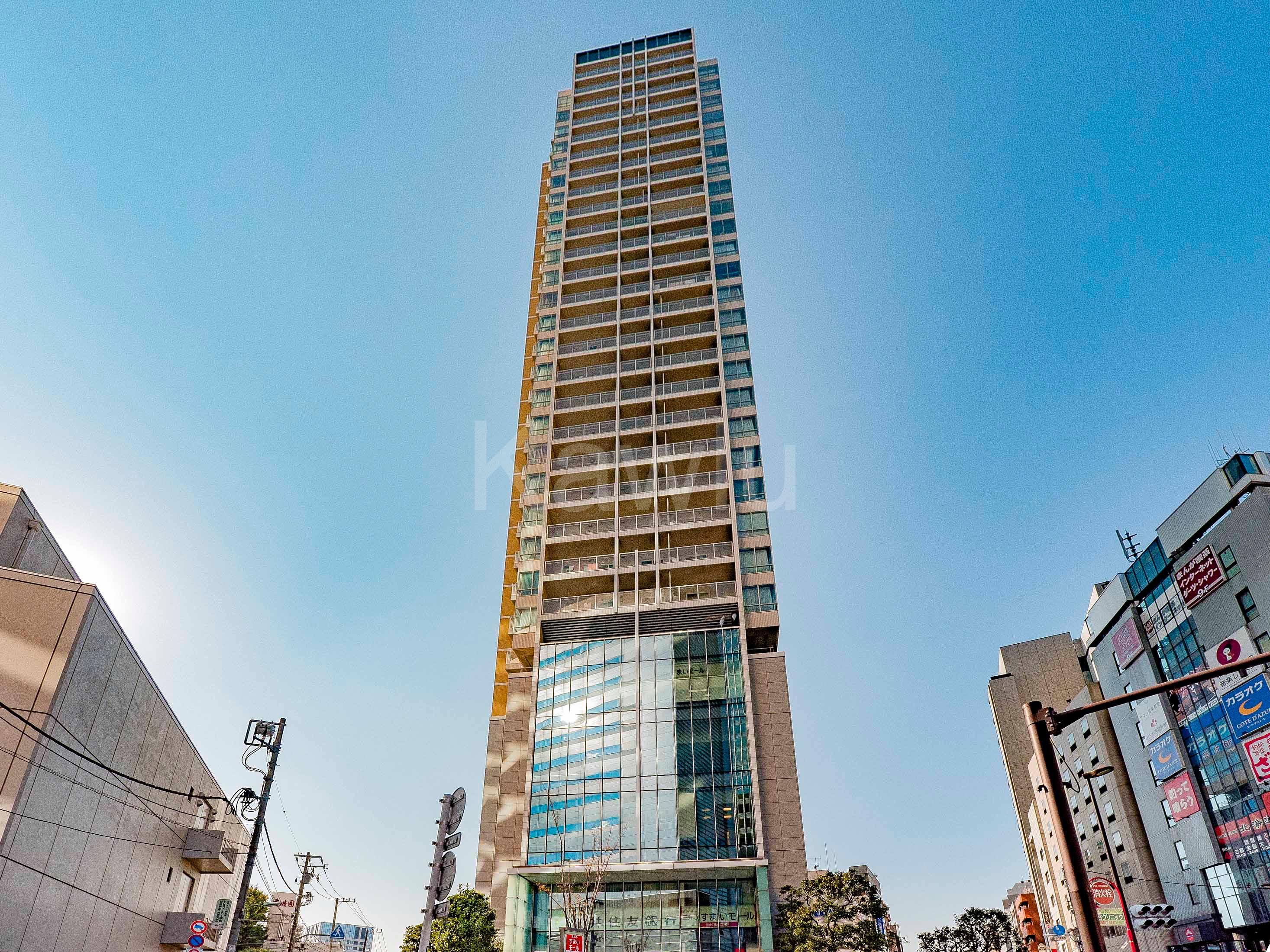 パークタワー目黒は、目黒駅近の資産性に優れたタワマン!