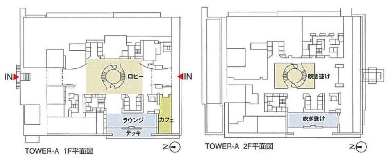アーバンドックパークシティ豊洲タワーAの配置図