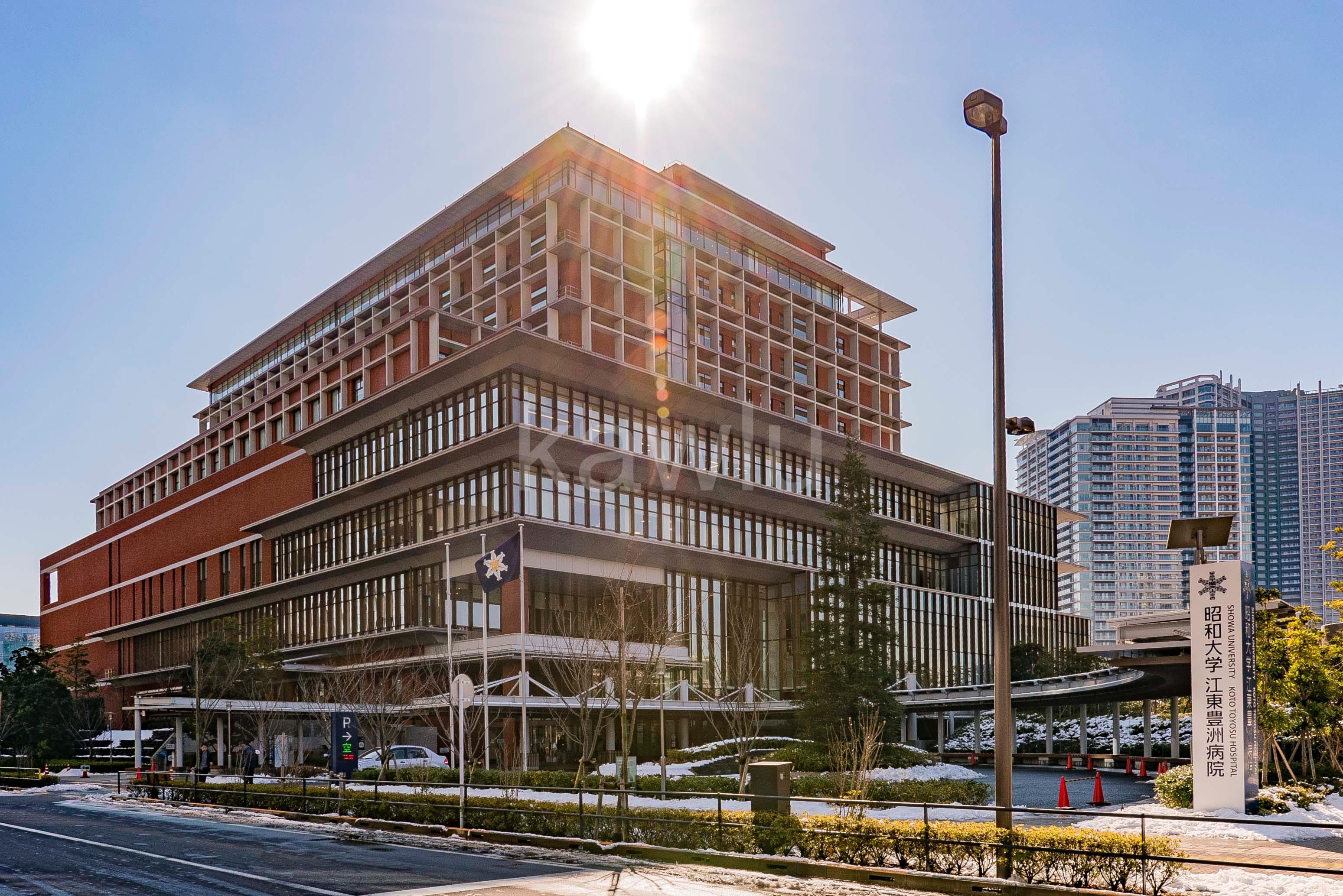 スカイズタワー&ガーデン(SKYZ TOWER&GARDEN)昭和大学江東豊洲病院