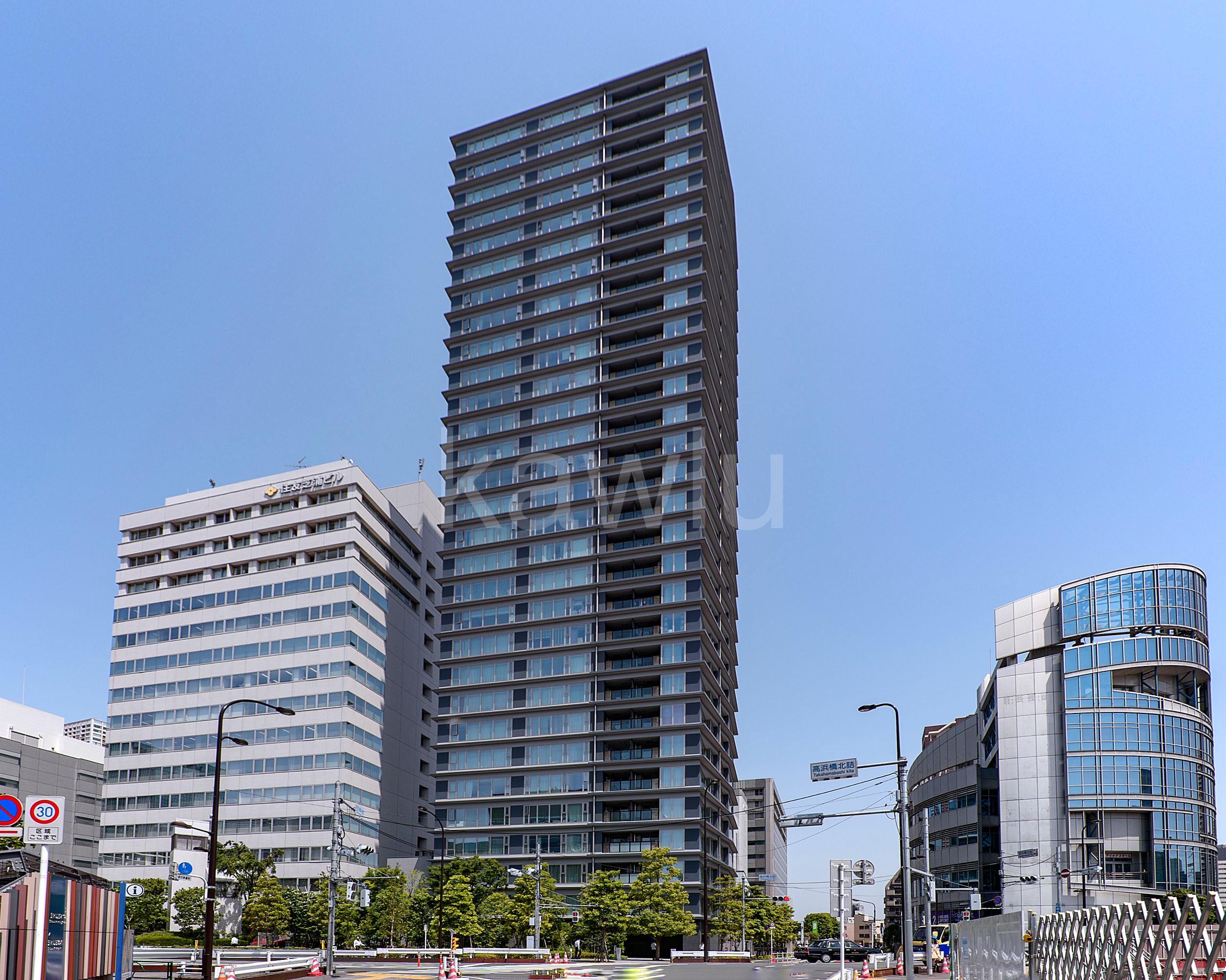 東京ベイシティタワーは品川・田町間の新駅エリアにそびえ立つタワーマンション!