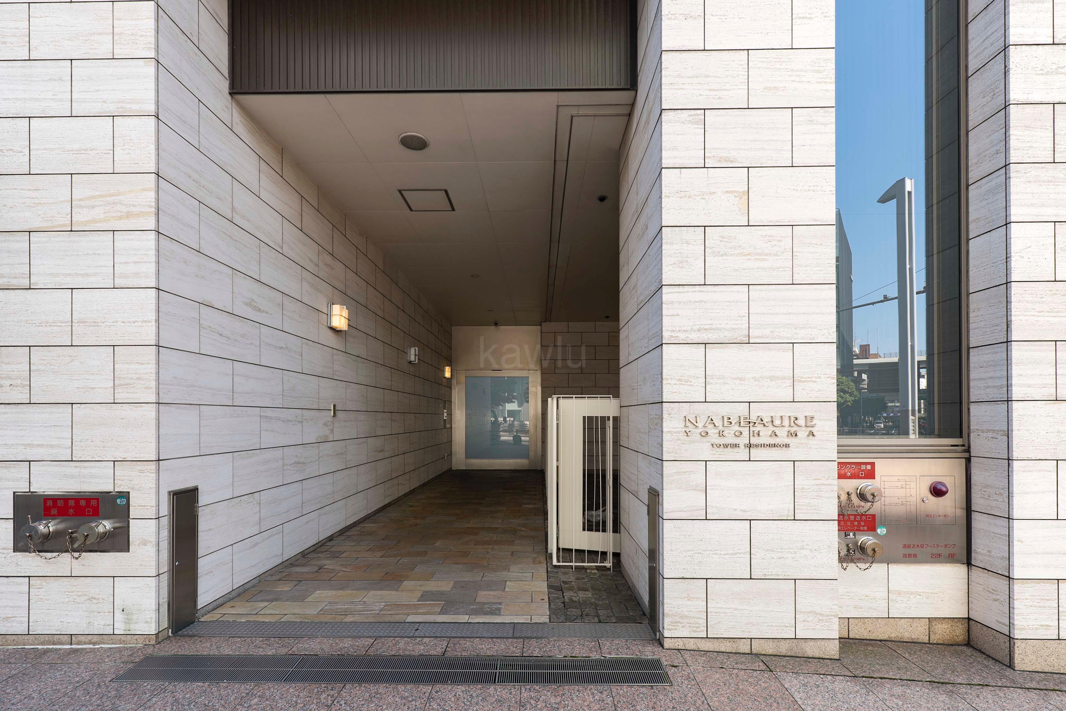 ナビューレ横浜タワーレジデンス_エントランス