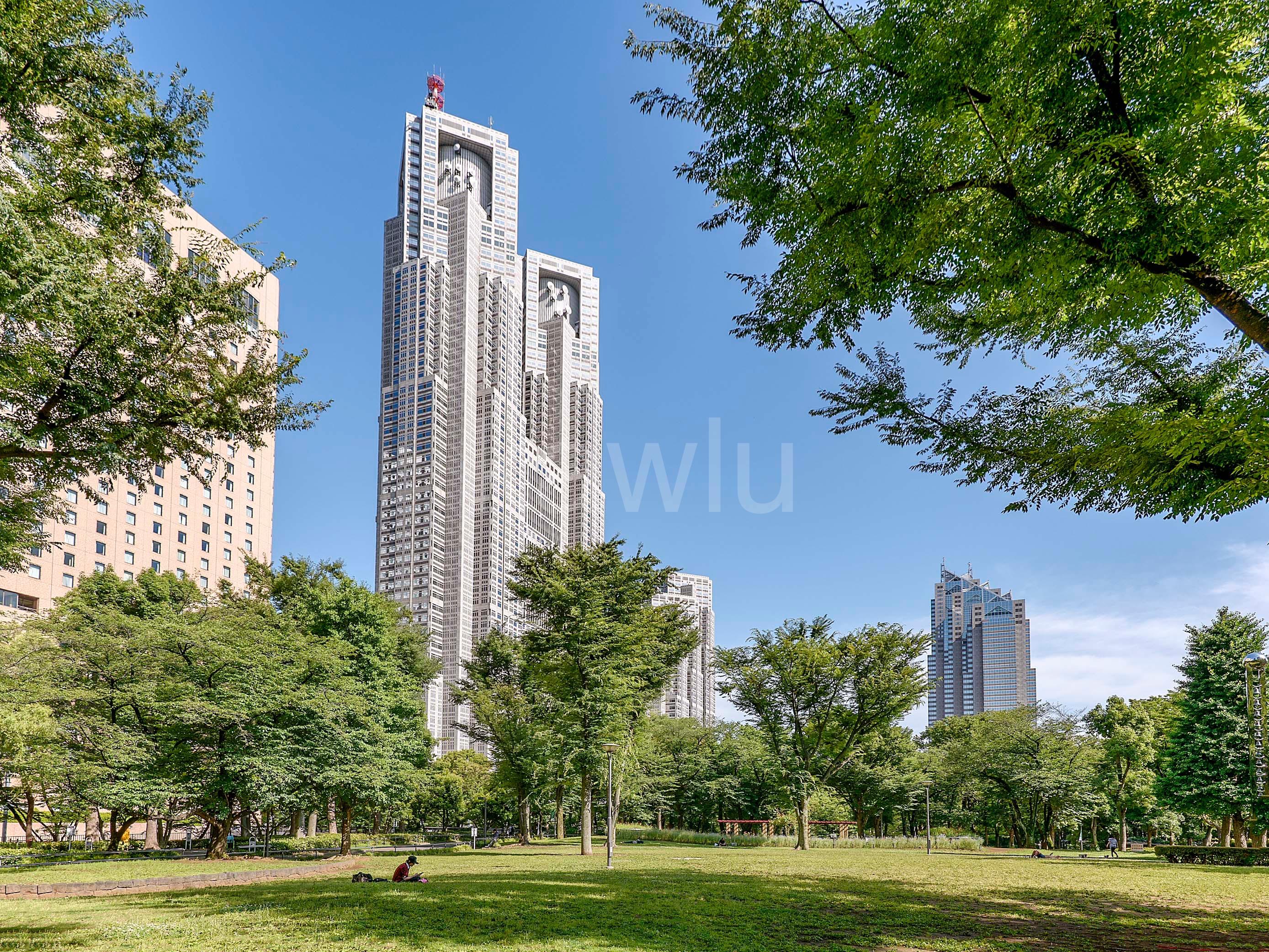 セントラルレジデンス新宿シティタワー_新宿中央公園