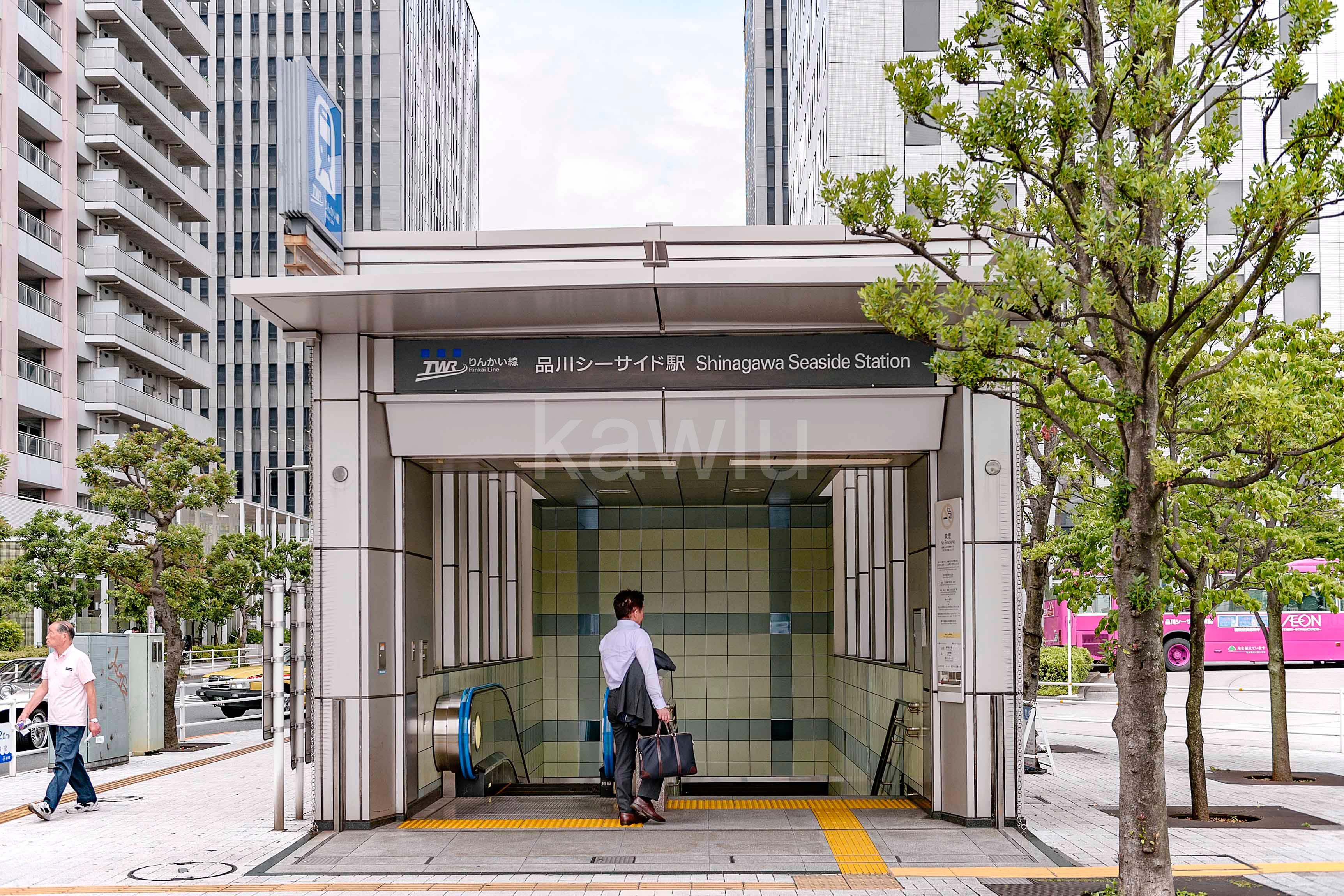 ラグナタワー_品川シーサイド駅