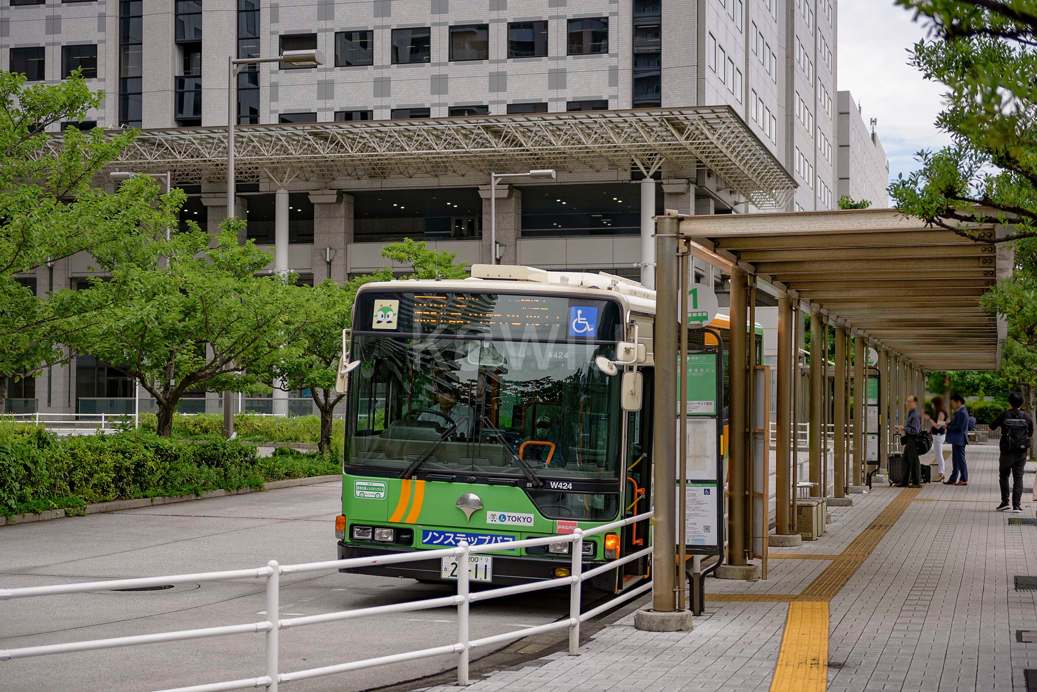 クレストタワー品川シーサイド_品川シーサイド駅バスターミナル