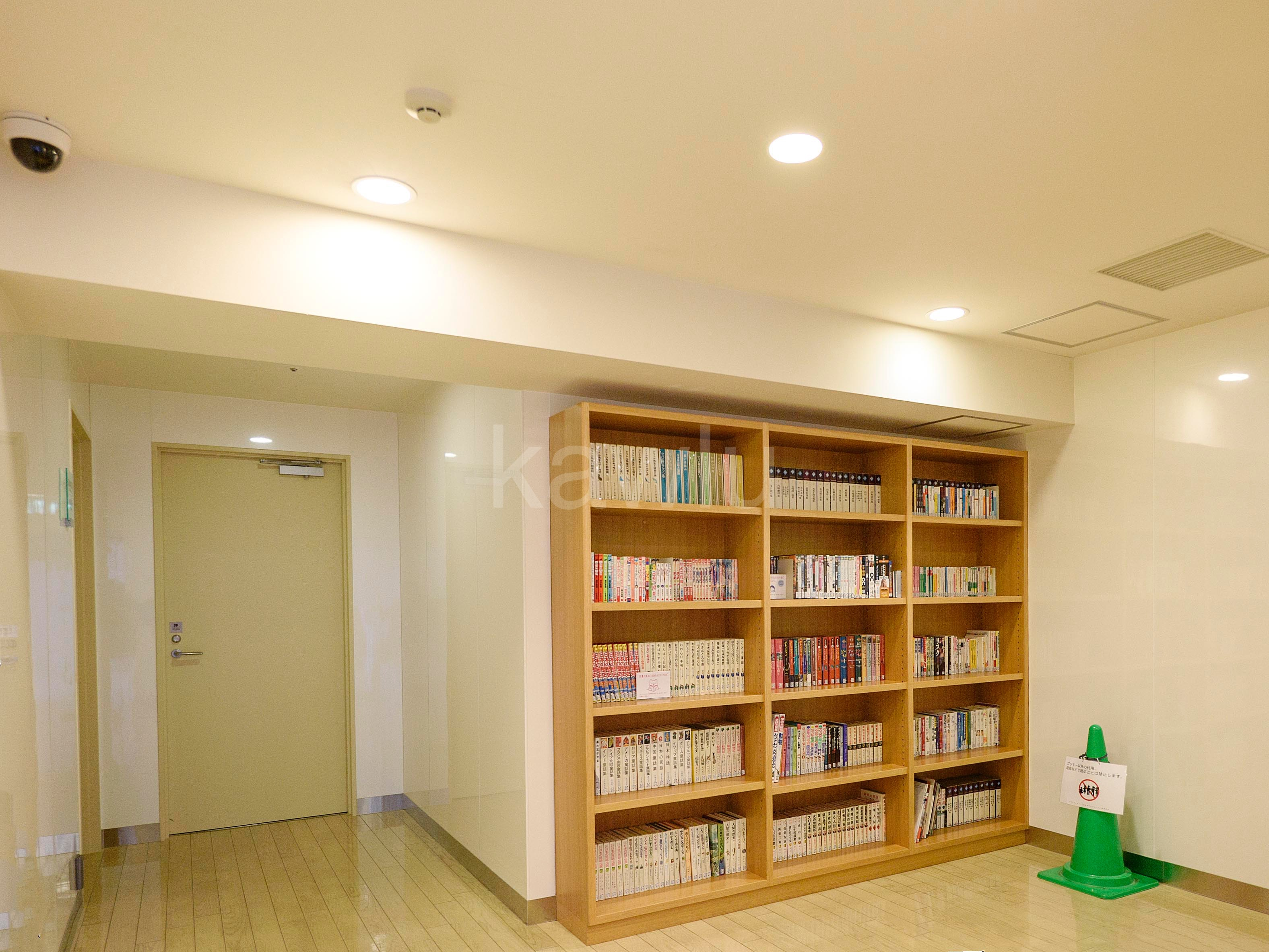 アップルタワー東京キャナルコート_図書室