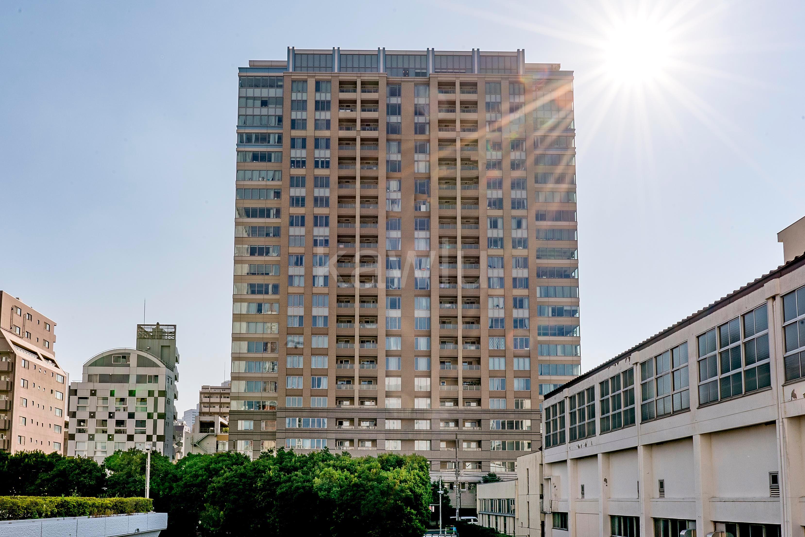 ザレジデンス三田は文教地区に位置するタワーマンション!