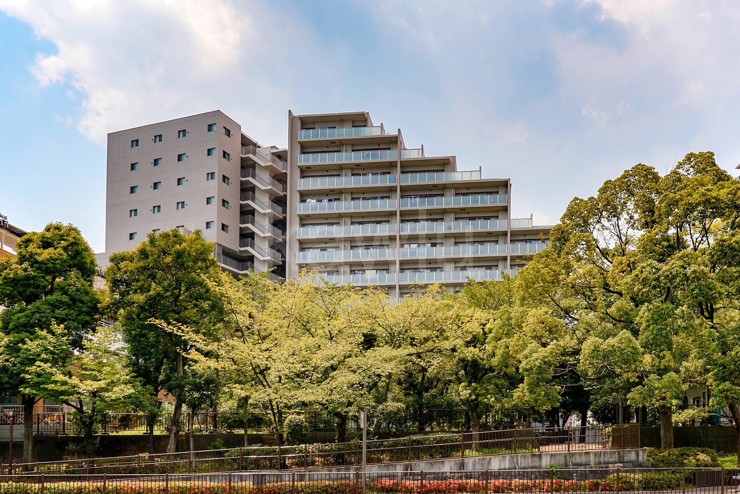 クレヴィア住吉は、アクセスに優れた伊藤忠都市開発のブランドマンション!