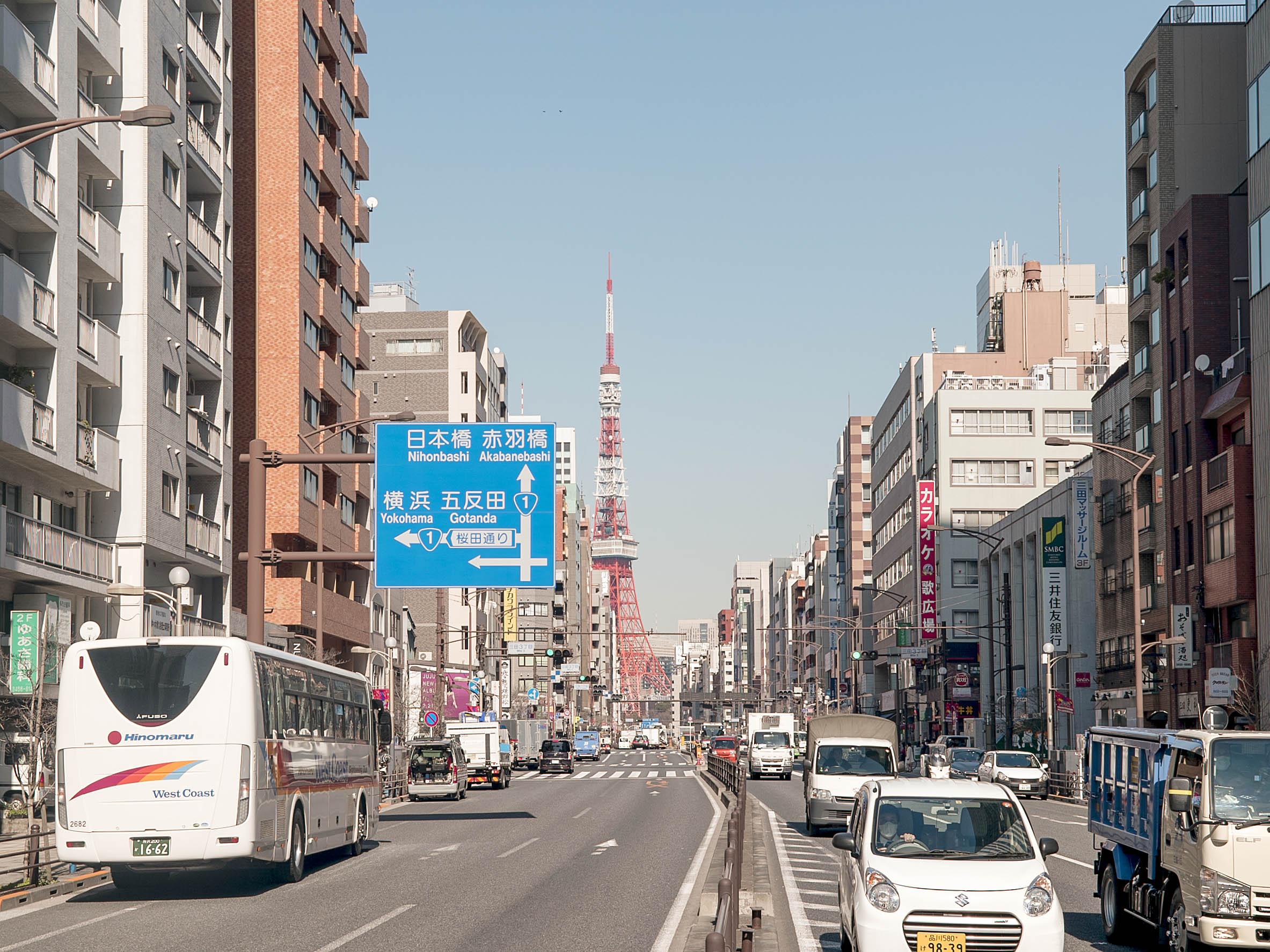 プラウド芝公園_東京タワー