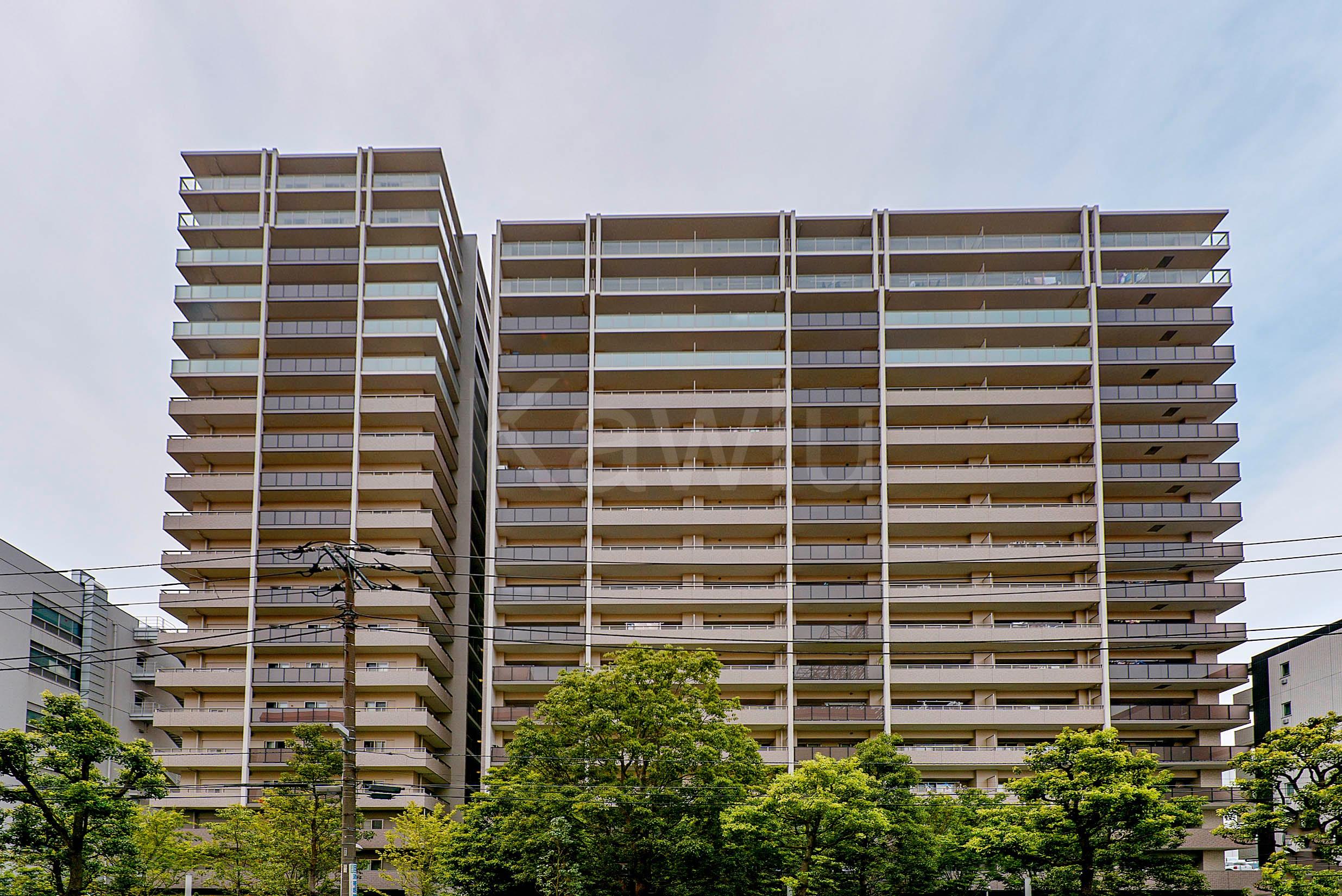 オーベルグランディオ品川勝島は、アクセス性に優れた大規模マンション!