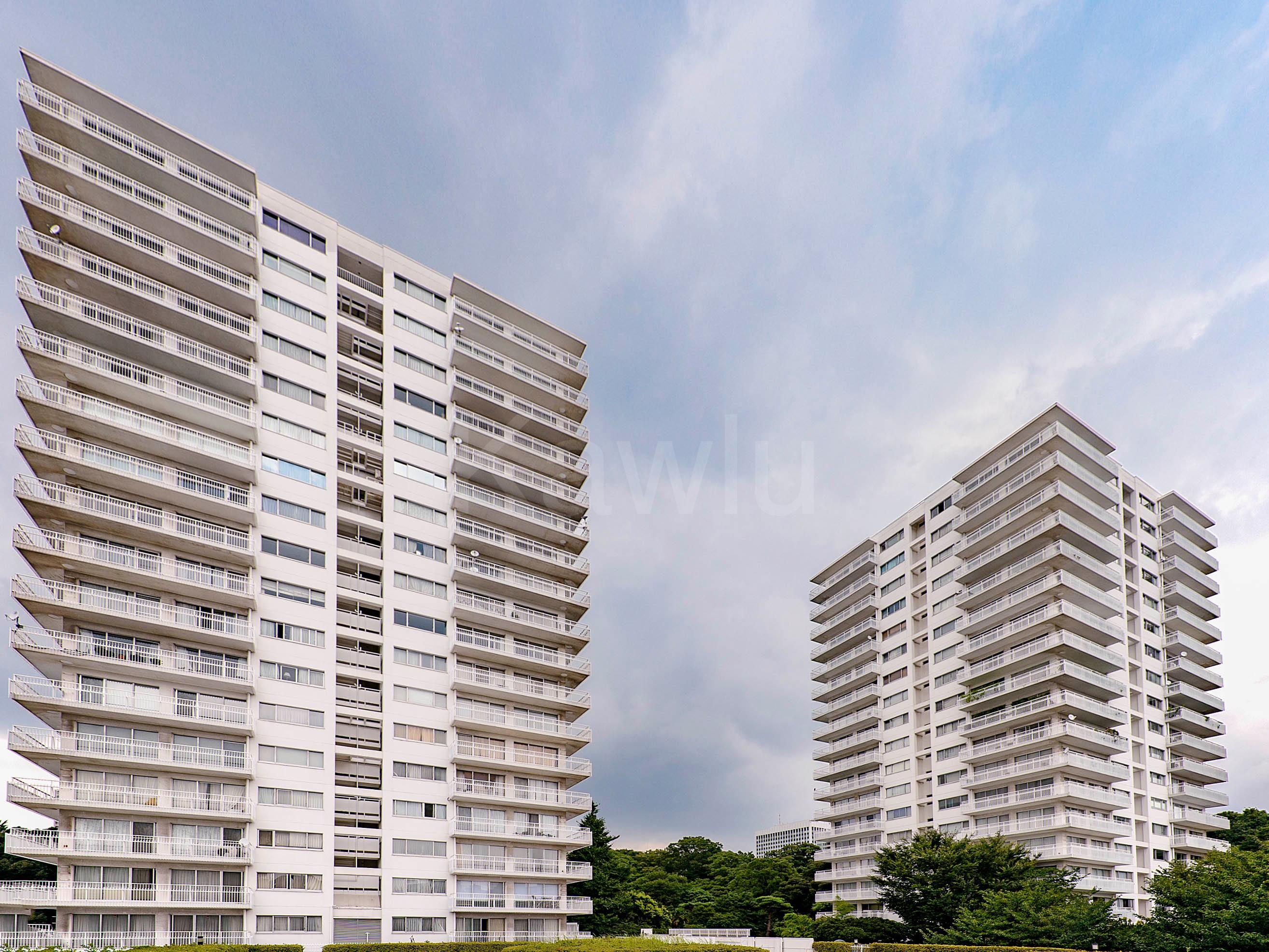 三田綱町パークマンションは、高層マンションブームの火付け役!