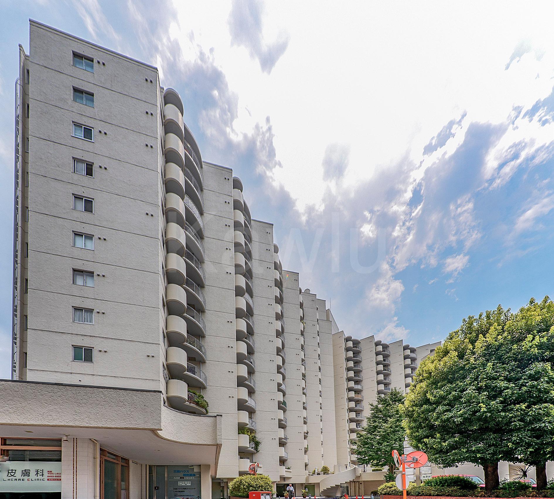 三田ハウスは、港区のブランドエリアに位置するヴィンテージマンション!