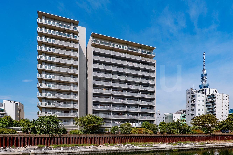 錦糸公園パークホームズシティフォートは、注目のリバーサイドマンション!