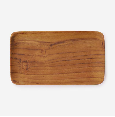 RISE&SHINE WOOD TRAY