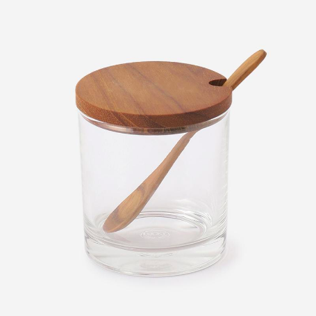 RISE&SHINE WOOD CANISTER SPOON