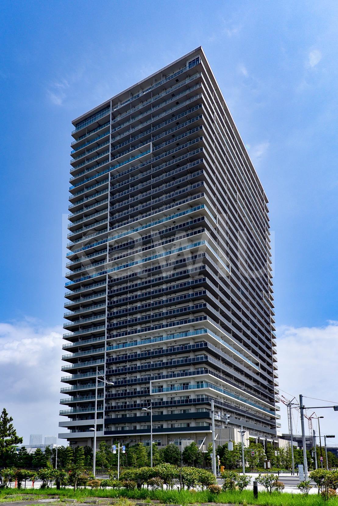 ブリリア有明シティタワーは、湾岸特等席の眺望が約束されたタワマン!